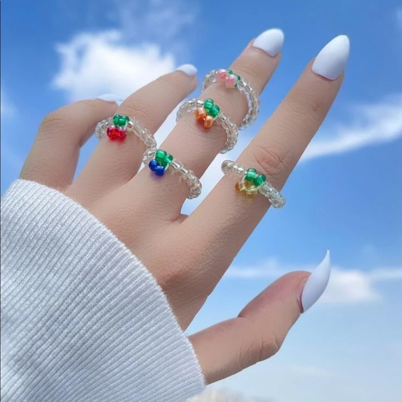 Urban Outfitters Jewelry - 3/$30🍀urban fruity rings